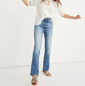 Madewell Jeans - Madewell Skinny Flare Jeans in Kenwick Wash